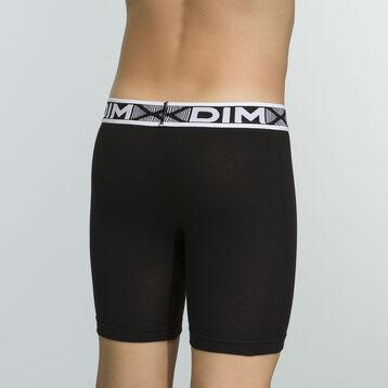 Boxer negro para niño de algodón elástico Basic Sport, , DIM