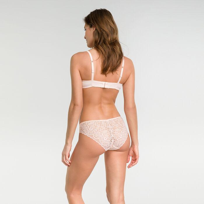 Braguita de encaje rosa bailarina - Dim Sublim Dentelle, , DIM