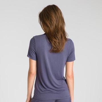 Tee-shirt manches courtes gris Pure Essential-DIM