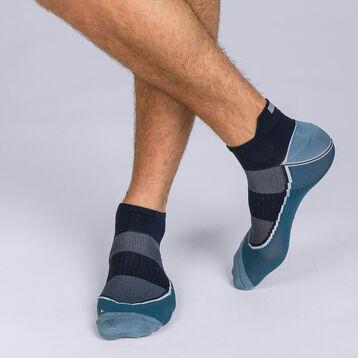 Socquettes courtes impact fort Gris bleu Homme Dim Sport-DIM