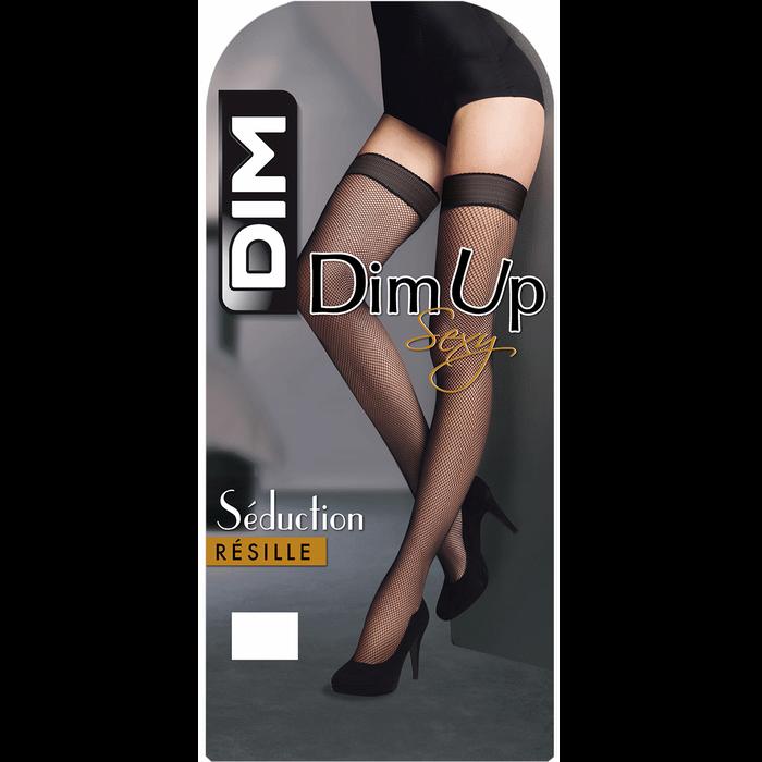 DIM Up noir Sexy Résille 73D-DIM
