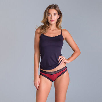 Lot de 2 slips rouge et gris Sexy Fashion-DIM