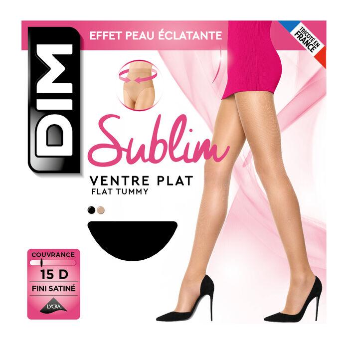 Panti negro Sublim vientre plano 15D, , DIM