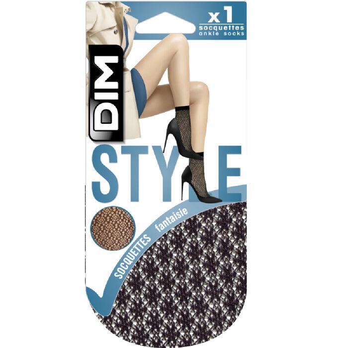 Mini medias negras crochet berebere Style de Dim, , DIM