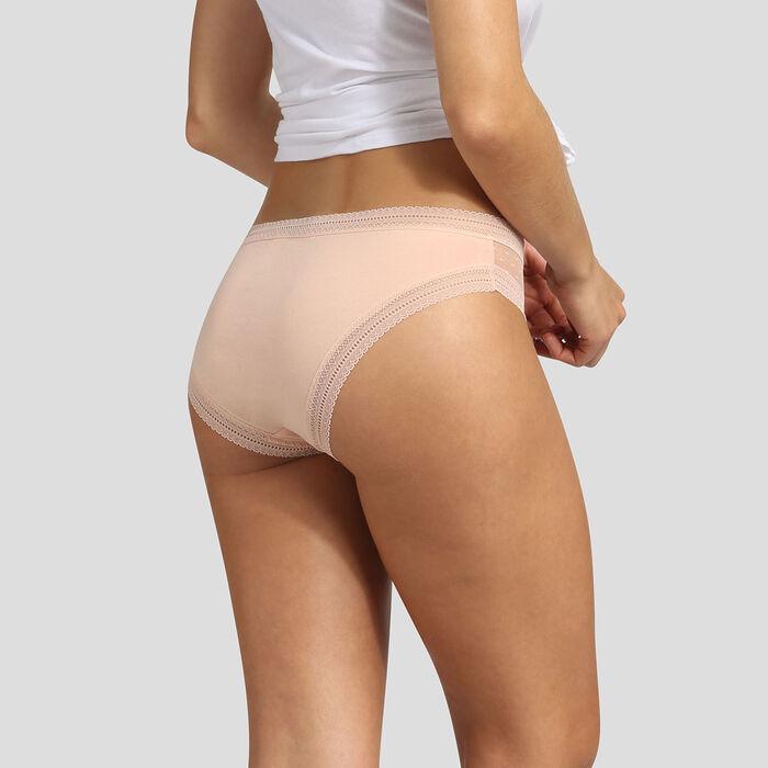 Pack de 2 braguitas skin rose Sexy Transparency de Dim, , DIM