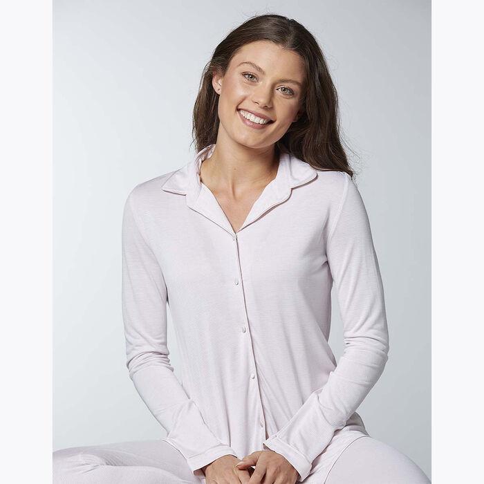 Conjunto de pijama rosa claro para mujer, , DIM