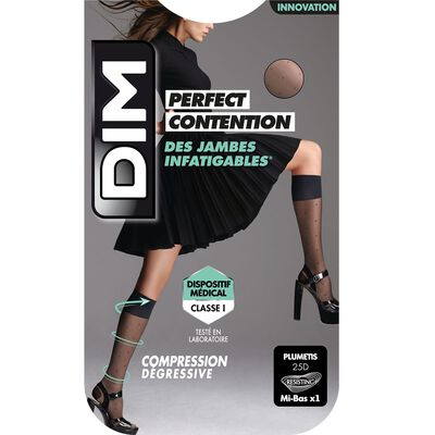 Mini medias de compresión negro fantasía Piernas Incansables - Perfect Contention DIM , , DIM