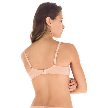 Soutien-gorge bois de rose à armatures Nude Support-DIM