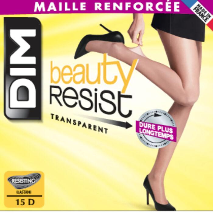 Lote de 2 pantis transparentes ámbar Beauty Resist 15D, , DIM