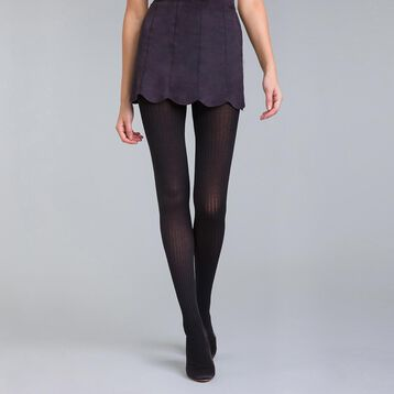 Collant cotte de mailles noir DIM & BASH-DIM