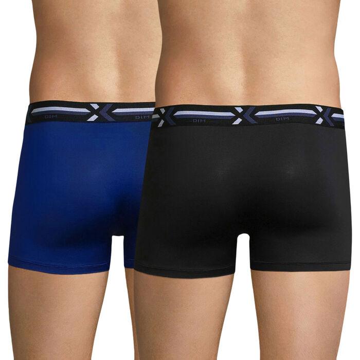 Pack de 2 bóxers azul y negro - Xtemp Activ, , DIM