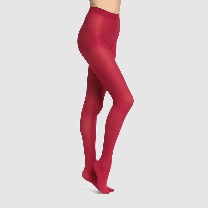 Panti opaco rosa oscuro aterciopelado Dim Style 50D, , DIM