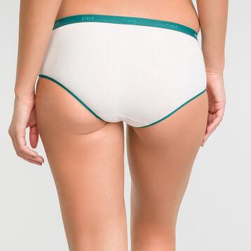 Pack de 5 culottes de algodón Myosotis - Les Pockets Coton Stretch, , DIM