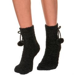 Calcetines de media pantorrilla negros Cocoon para mujer, , DIM