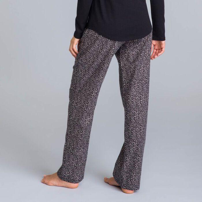 Pantalon de pyjama gris rocher Soft & Cool-DIM