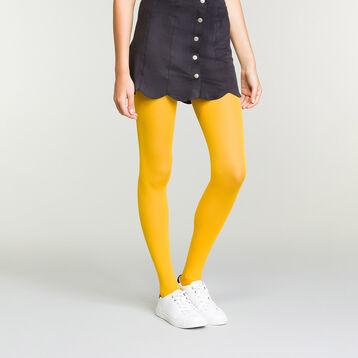 Panti amarillo mostaza opaco aterciopelado Dim Style, , DIM