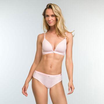 Braguita rosa claro de algodón elástico Casual Line, , DIM