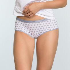 Pack de 3 culottes de algodón elástico estampado zorro gris Les Pockets , , DIM