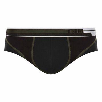 Slip negro transpirable de algodón - Dim Sport, , DIM