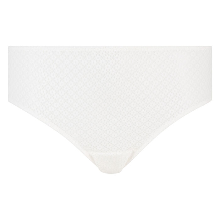 Braguita blanca de encaje Résille Chic de Dim, , DIM