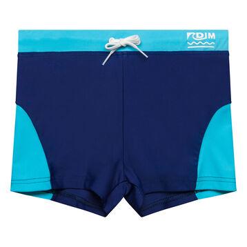 Bañador niño azul - Bain Exotic, , DIM