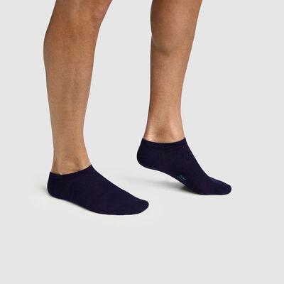 Pack de 2 pares de calcetines bajos para hombre de algodón lyocell Green by Dim, , DIM