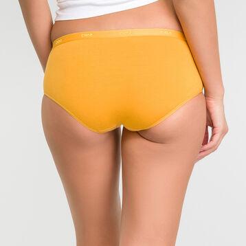 Pack de 3 culottes de algodón amarillo, gris y blanco - Les Pockets Ecodim, , DIM