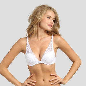 Sujetador triangular push-up Sublim Dentelle de Dim, , DIM