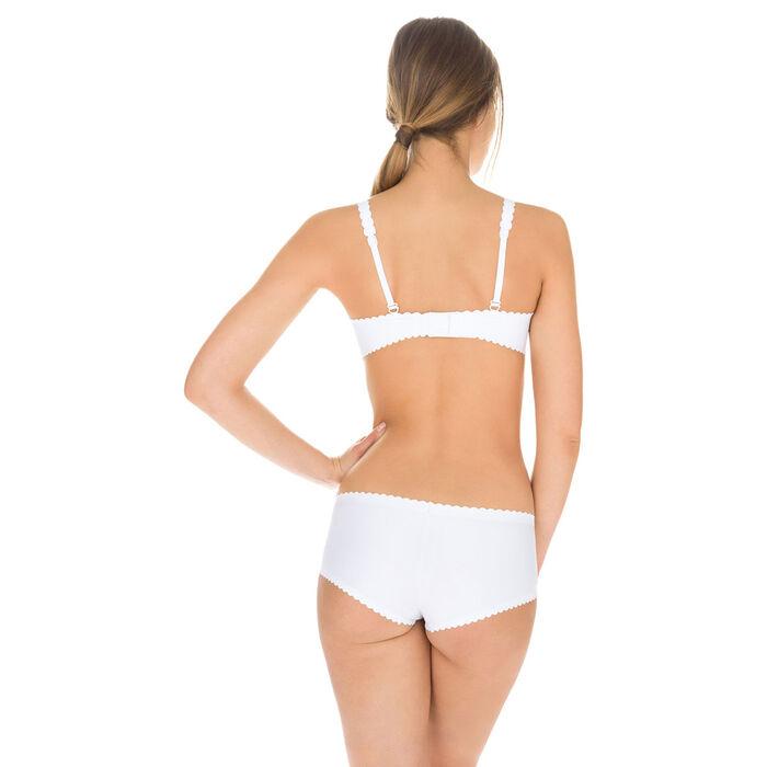 Culotte blanco de microfibra Body Touch Dim, , DIM