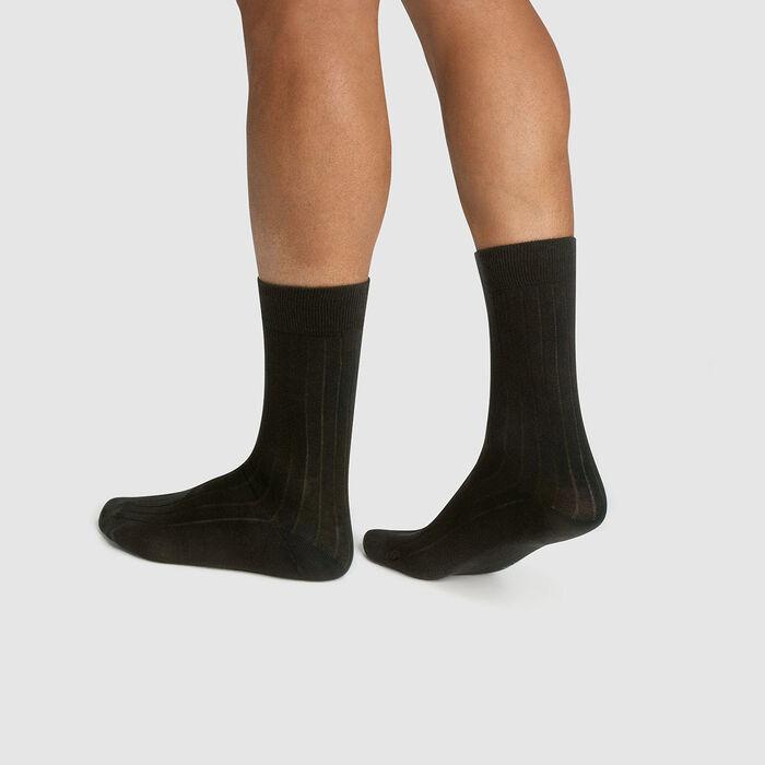 Pack de 2 pares de calcetines para hombre lyocell gris Green by Dim, , DIM
