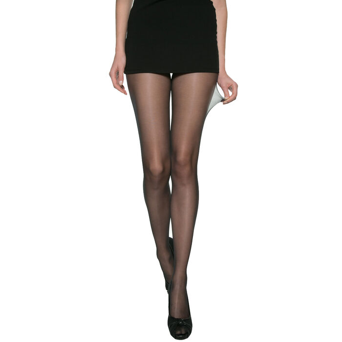 Panti Beauty Resist negro transparente 15D, , DIM