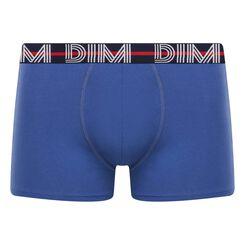 Boxer azul noche de algodón elástico Dim Powerful, , DIM