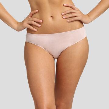 Braguita de algodón modal y encaje rosa Cosy Lasy de Dim, , DIM