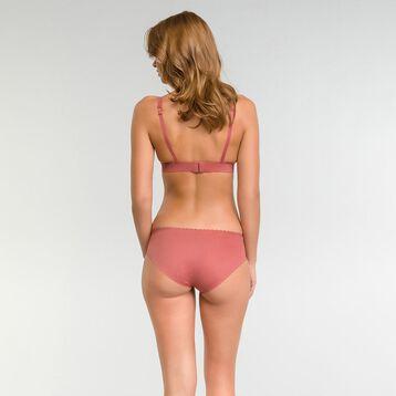 Sujetador triangular sin aros rosa - Body Touch, , DIM