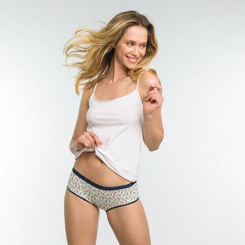 Pack de 4 culottes de algodón estampados Rublixcube - Les Pockets, , DIM