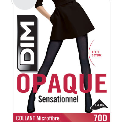 Panti negro DIM SIGNATURE opaco aterciopelado 60D, , DIM