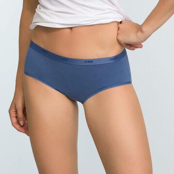 Pack de 5 culottes de colores de algodón elástico Les Pockets Ecodim, , DIM
