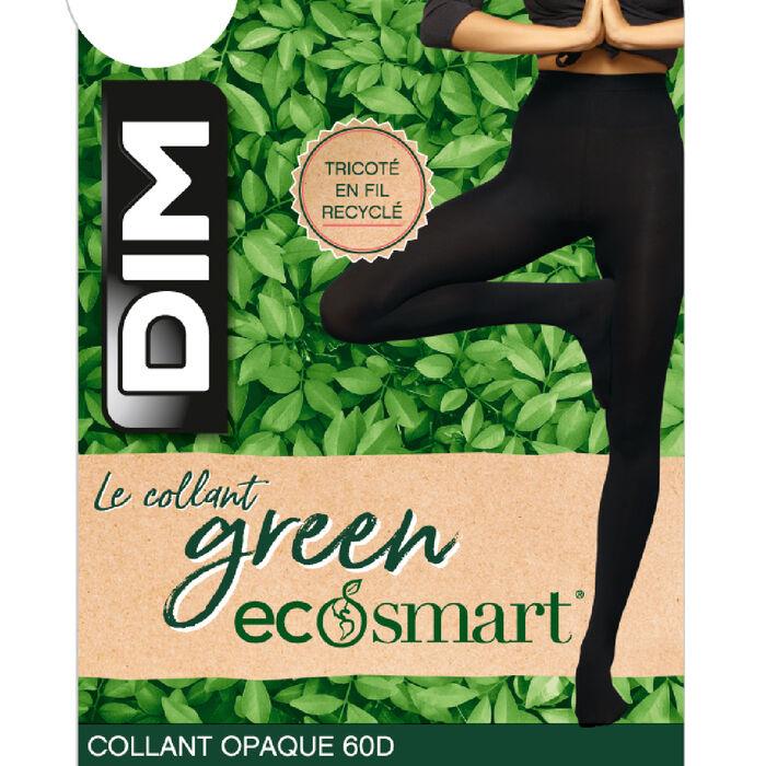 Panti negro Bio de poliamida reciclada Green by Dim 60 deniers, , DIM