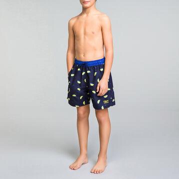 Bañador niño con estampado de limones - Bain Citrons, , DIM