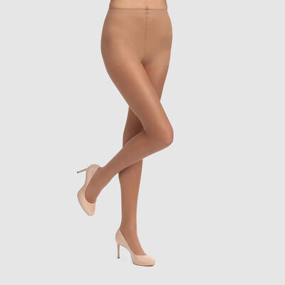 Panty transparente Sublim efecto BB Cream 16D beige rosé, , DIM
