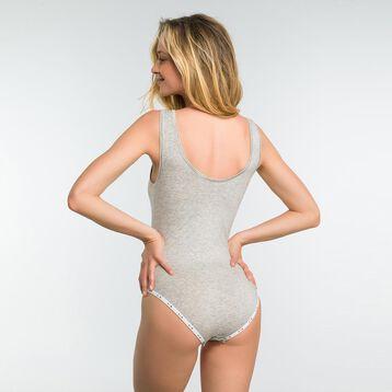 Body gris de algodón - DIM Originals, , DIM