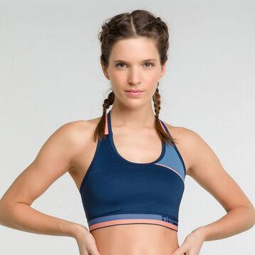 Top deportivo azul actividad moderada - Dim Sport, , DIM