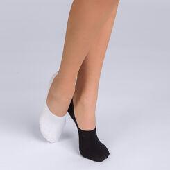 Lote de 2 salvapies de calzado deportivo para mujer Basic Coton, , DIM