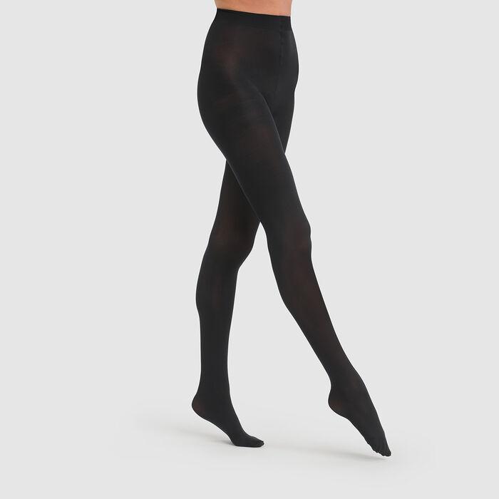 Panti negro opaco aterciopelado Style 50D, , DIM