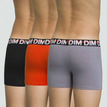Pack de 3 boxers para niño de algodón elástico Citrouille romo Eco, , DIM