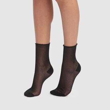 Calcetines de lurex fantasía negros Dim Style, , DIM