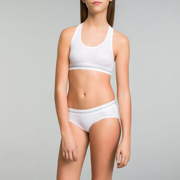Shorty blanc Dim Sport DIM GIRL-DIM