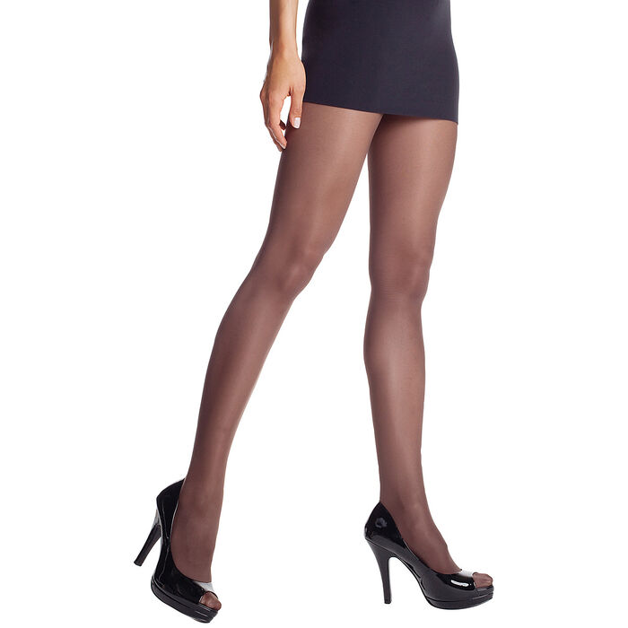 Collant chocolat Diam's jambes fuselées 45D-DIM