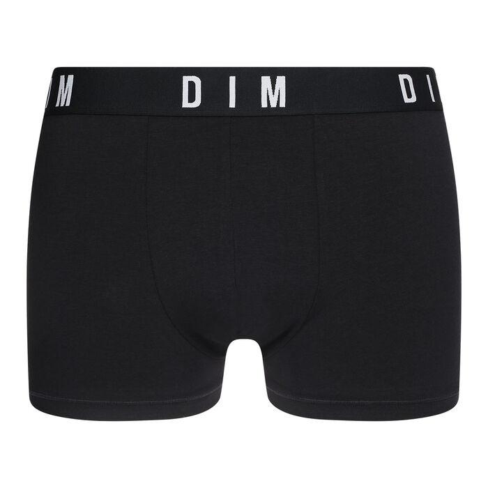 Bóxer negro de algodón y modal - DIM Originals, , DIM