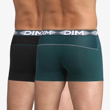 Pack de 2 bóxers verde y negro 3D Flex Air , , DIM